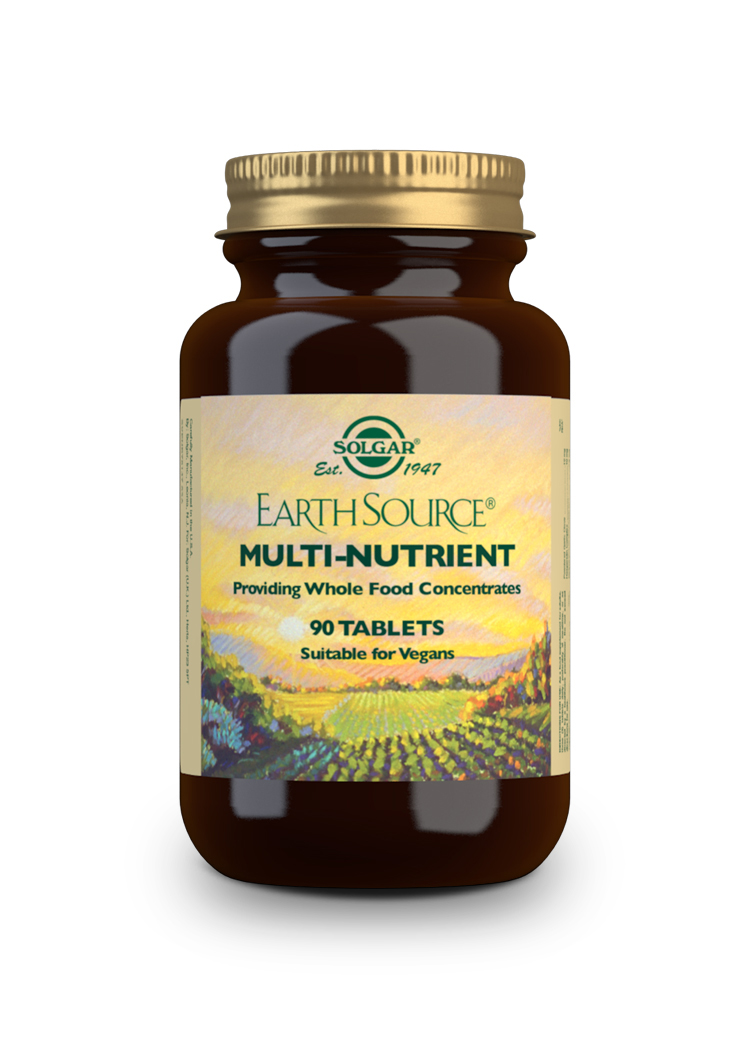 earth source multivitaminico y mineral 90 comprimidos
