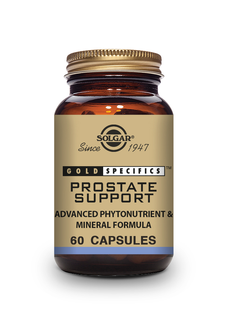 gold specifics prostate support 60 capsulas vegetales